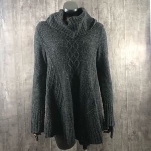 Ruby Moon Super Soft Ribbed Mock Neck Sweater